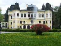 Betléri kastély parkja