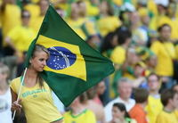 Egy brazil szurkoló