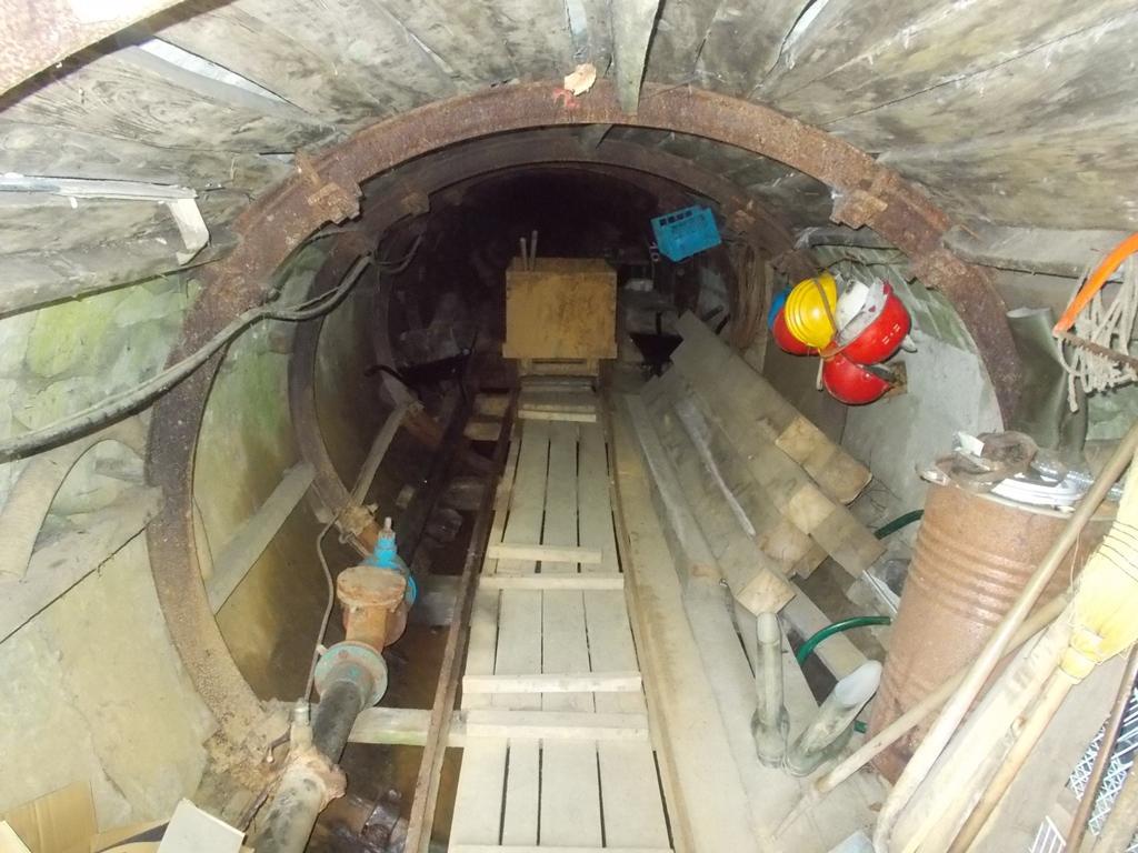 nyitott aknás bányászat fogyás előtt és után