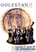 Golestan plakát, 2008. aug. 27.