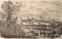 Temesvár, mint erődváros a XIX. században