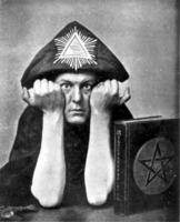 Aleister Crowley Pyramidion
